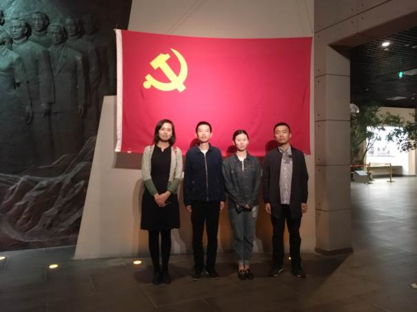 """团支部开展""""青春红五月""""活动"""