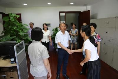 邓盛平总队长在无锡地区座谈调研时强调当前六大重点工作